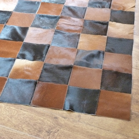 Patchwork Cowhide Rug PATCH146