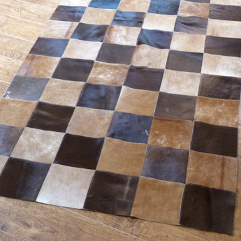 Patchwork Cowhide Rug PATCH131