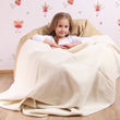 Kids Merino Wool Blanket Ivory