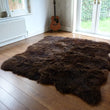 Rare Breed Sheepskin Rug 8 Skin Brown