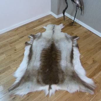 Large Reindeer Hide Rug R1175