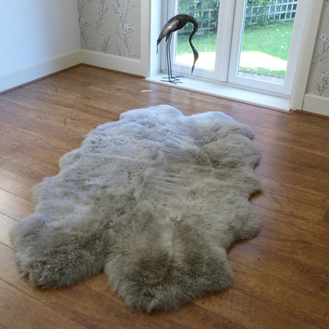 Sheepskin Rug Quad Vole