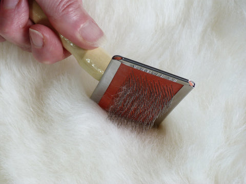 Sheepskin Rug Brush