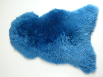 Sheepskin Rug UK - Azure Blue