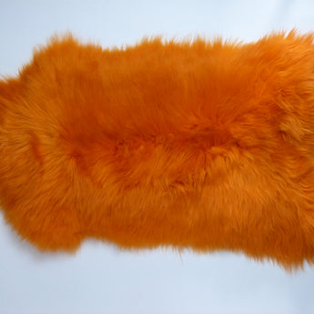 Sheepskin Rug UK - Orange