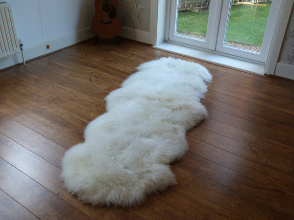 Natural Double Sheepskin Rug