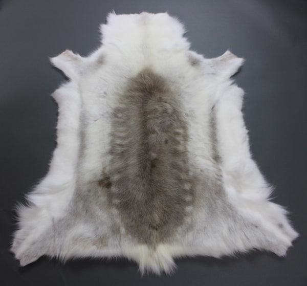 Light Reindeer Hide Rug R222