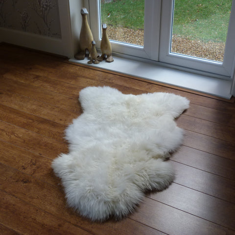 Sheepskin Rug Natural Single SML