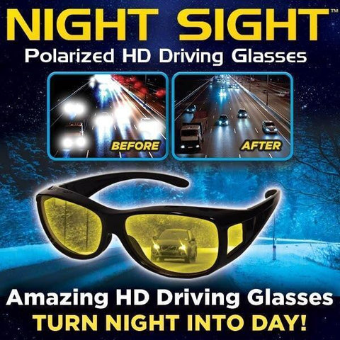 Image of Tech Night Vision HD Driving Glasses
