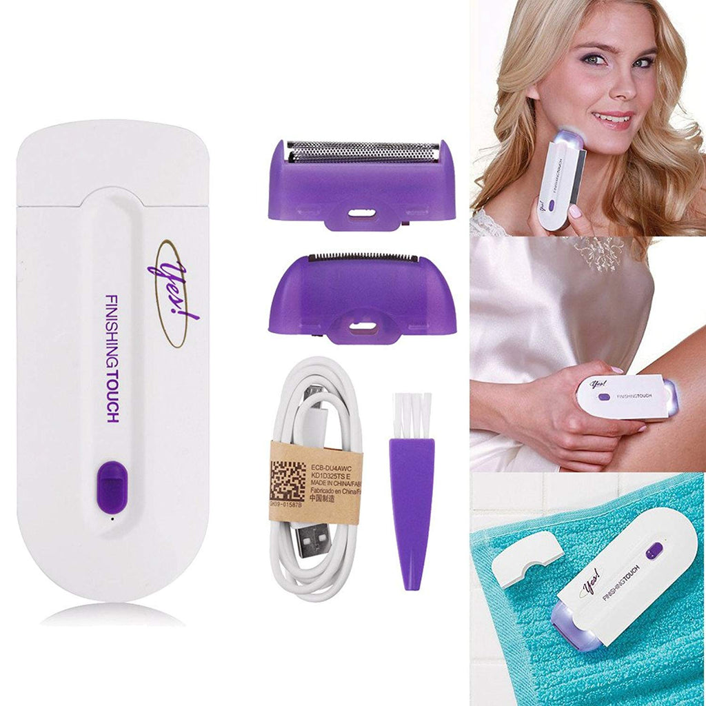2x1 NEW Laser epilator Rechargeable Unisex Instant Hair Removal