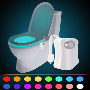 Smart Toilet light LED night Movement body 8 Colors