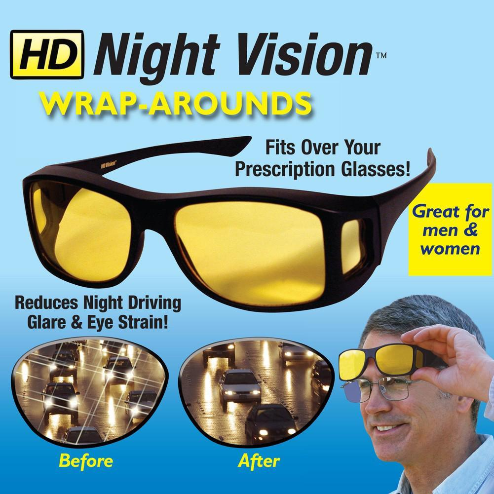 Tech Night Vision HD Driving Glasses
