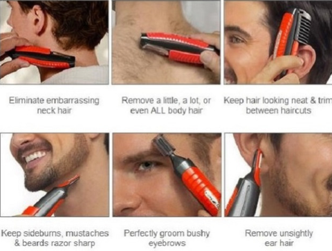 Image of ALL in 1 MicroTouch Hair Trimmer kit for man