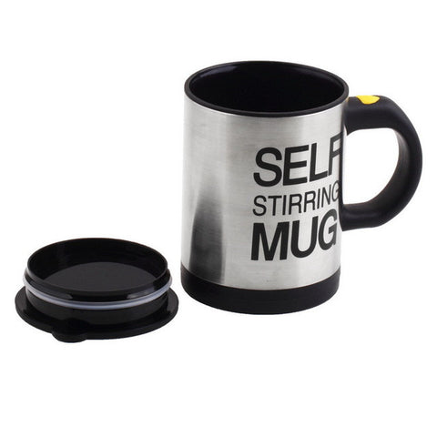 Image of self-stirring coffee cup