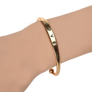 Love Bracelet Jewelry Bangle Gold