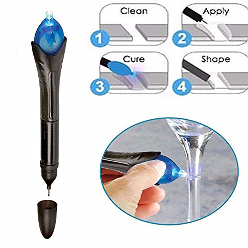 2PCS/Lot Useful 5 Second Quick Fix Liquid Glass Welding