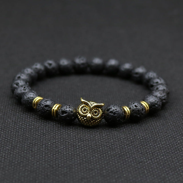 Owl head Bracelets, for Women and Men