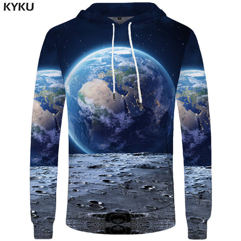 World Map Hoodies for Men