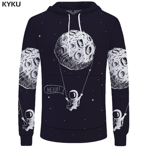 Image of World Map Hoodies for Men