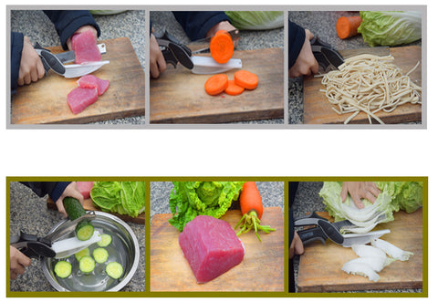 Image of Smart Kitchen knife for Cutting Fruits and Vegetables