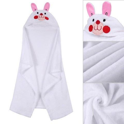 Hooded Bathrobe Toddler Baby Bath Towel