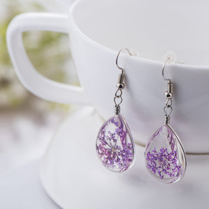 925 Sterling Silver Earrings Women Long Fashion