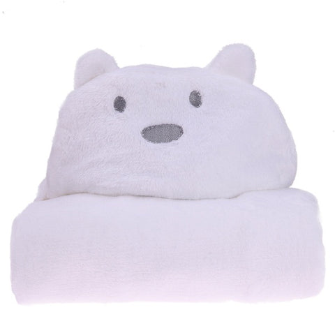 Image of Hooded Bathrobe Toddler Baby Bath Towel