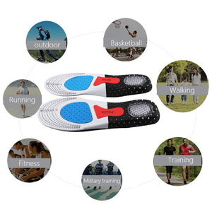 Silicone gel insoles for Foot Pain