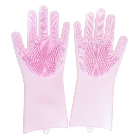Image of Silicone Rubber Cleaning Gloves