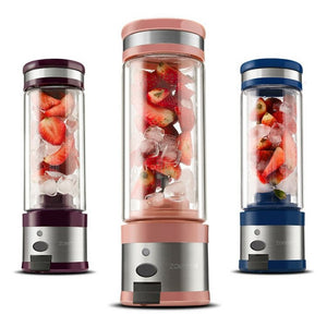 Blender Portable Stainless Steel USB Electric Juicer