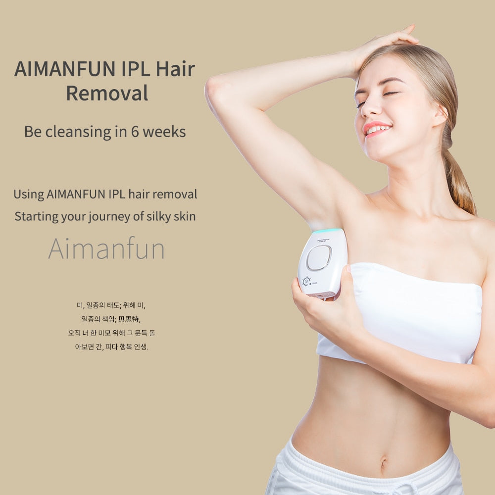 New Permanent Laser Hair Removal Technology