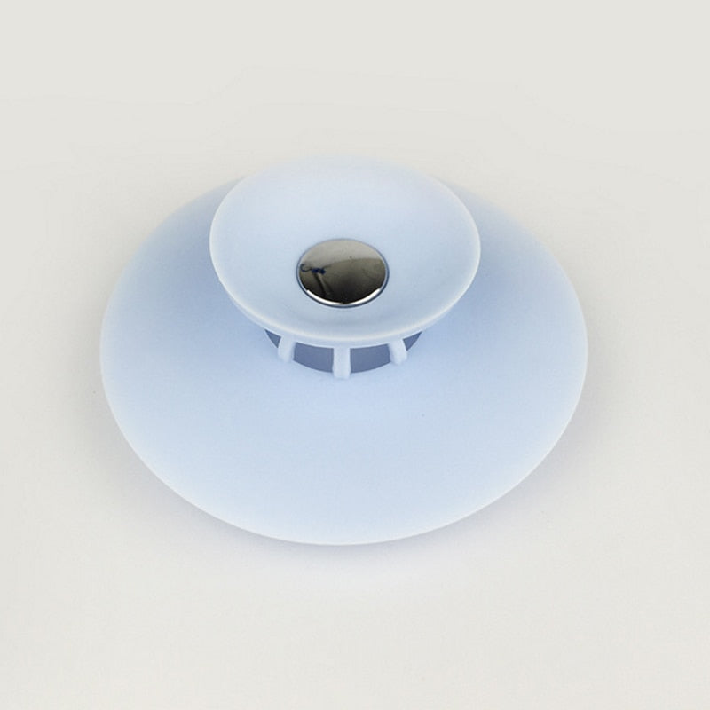 SINK AND TUB DRAIN STOPPER WITH STRAINER