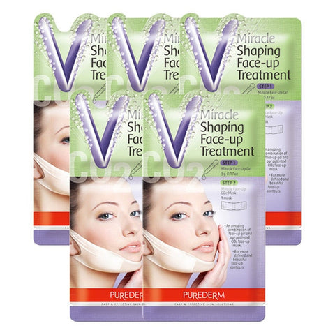 Image of 5 Pcs Miracle V-Shaped Slimming Mask
