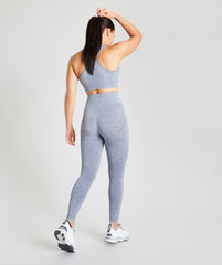Seamless Leggings - Blue Marl