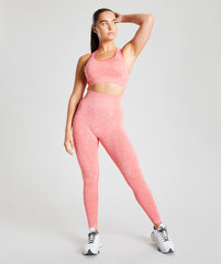 Seamless Leggings - Coral