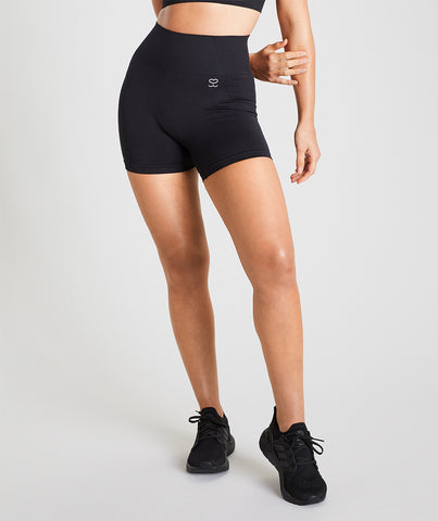 Seamless Shorts - Black