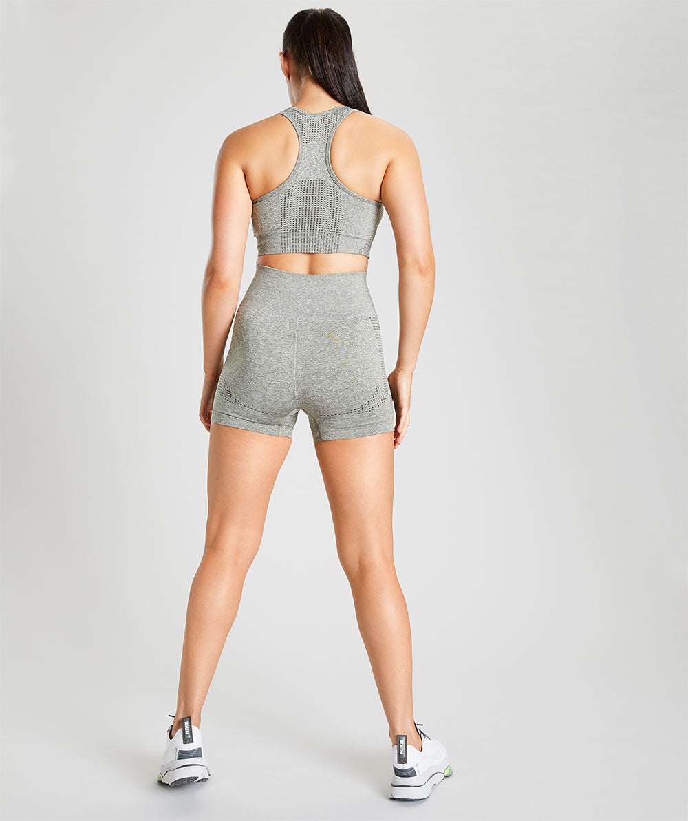 Seamless Shorts - Olive