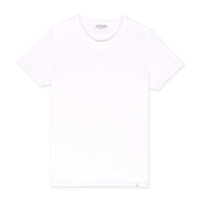 OWTS1801 White men's organic cotton t-shirt