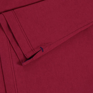 OWTS2004 Cherry Premium Box Fit GOTS Certified Organic Cotton Men's T-Shirt Side Split Detail