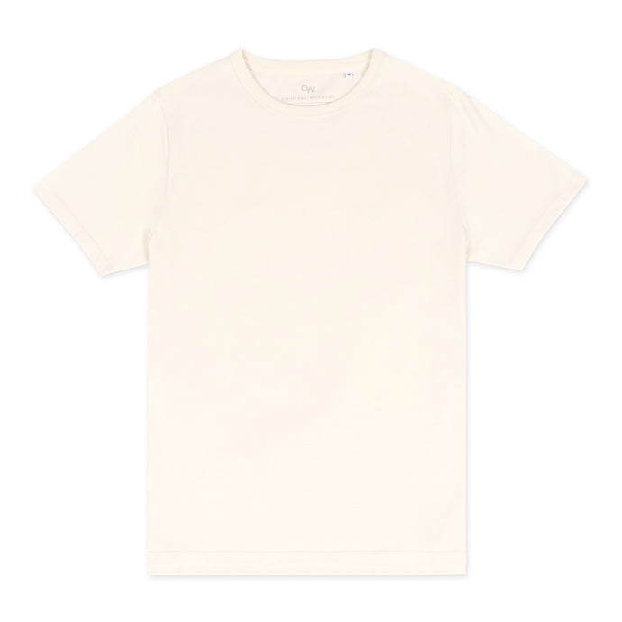 OWTS2004 Off-White Premium Box Fit GOTS Certified Organic Cotton Men's T-Shirt