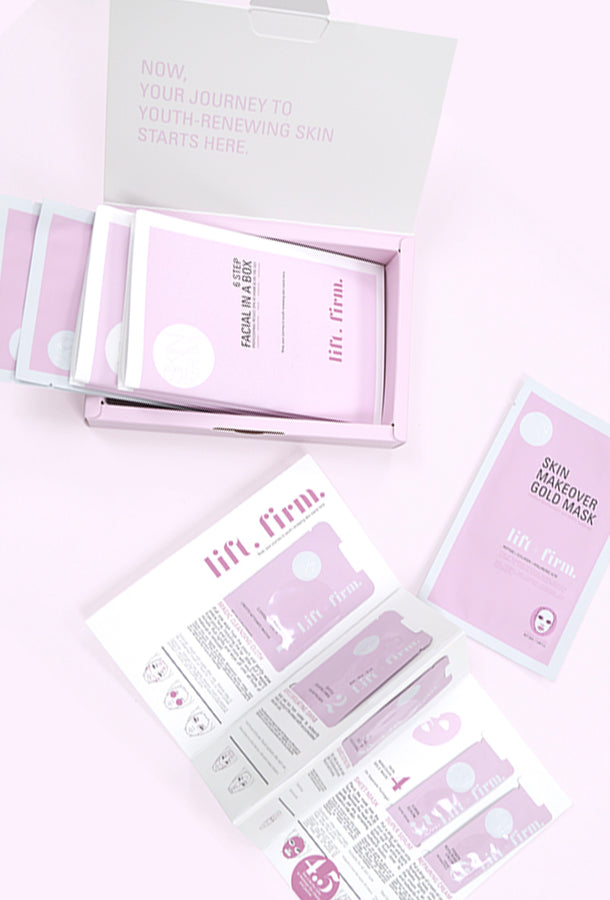 Lift + Firm Facial (3 sets)