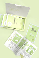 An open Detox Facial kit from sfglow showing the 6 steps of the process