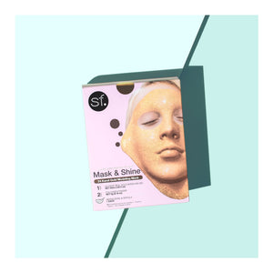 The 24 Karat Gold Modeling Gel Mask by sfglow