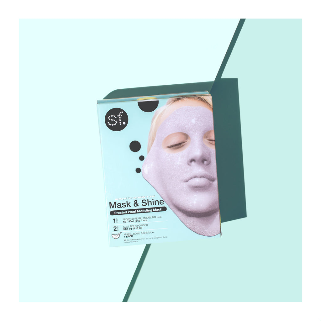 A pack of Pearl Rubber Mask from Mask & Shine by sfglow