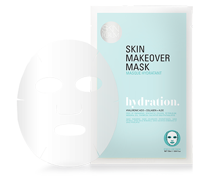 Skin Makeover Mask, from the Makeover Sheet Mask exclusive from sfglow