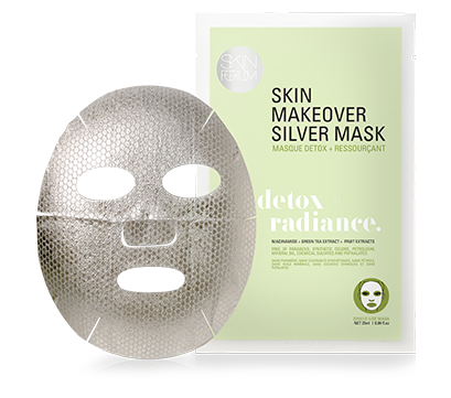View of the Silver Detox + Radiance Mask from sfglow