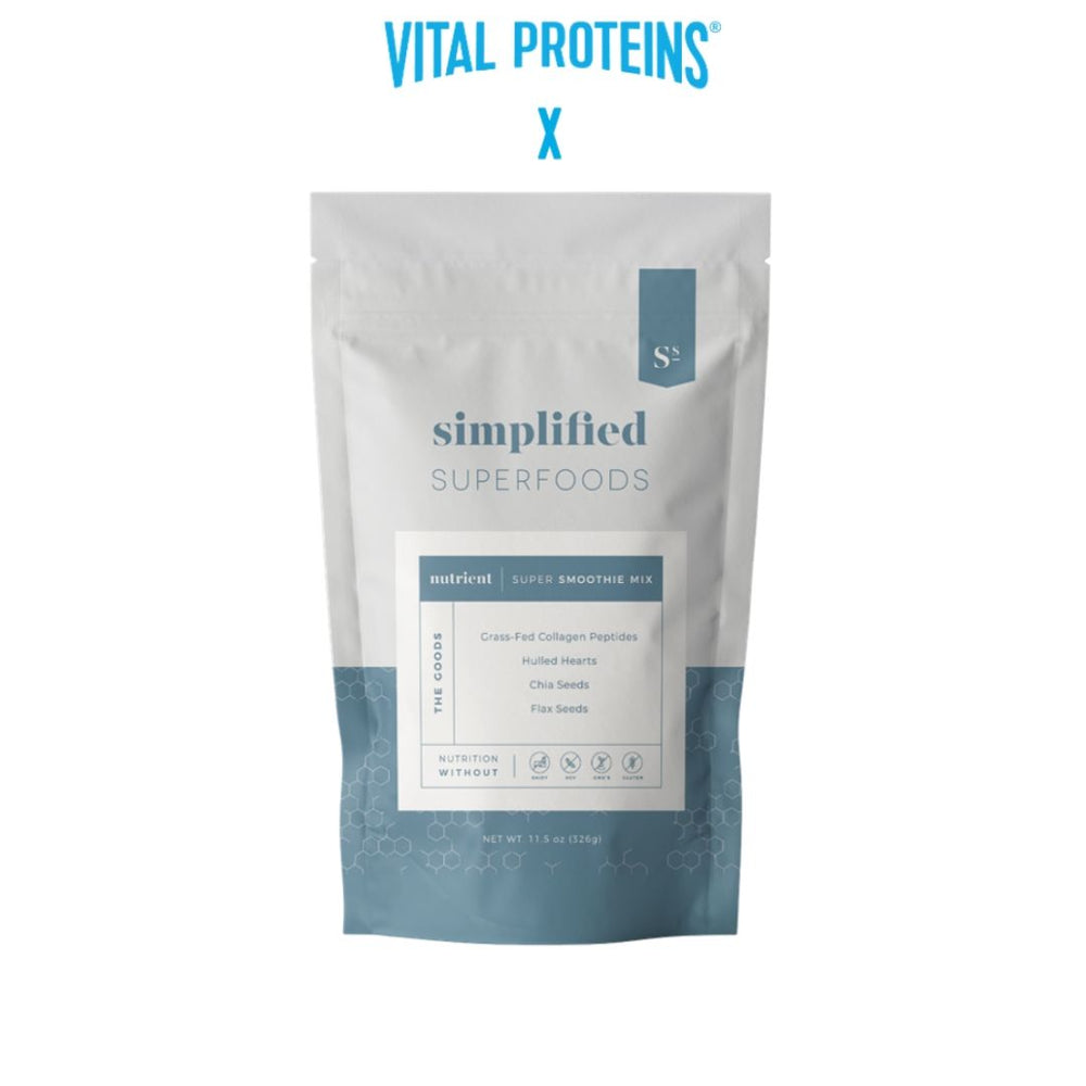 VITAL PROTEINS collagen peptides + chia + flax + hulled hearts