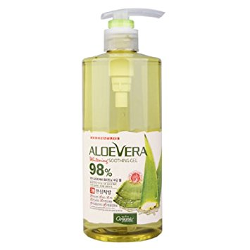 ALOEVERA WHITENING SOOTHING GEL 98%