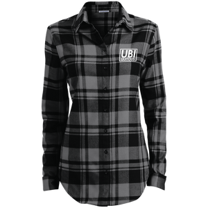 Ubi White Logo Flannel