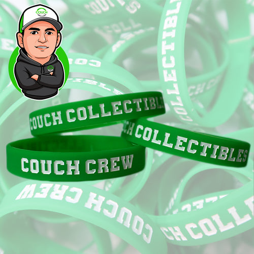 3 Couch Collectibles Silicone Bracelets